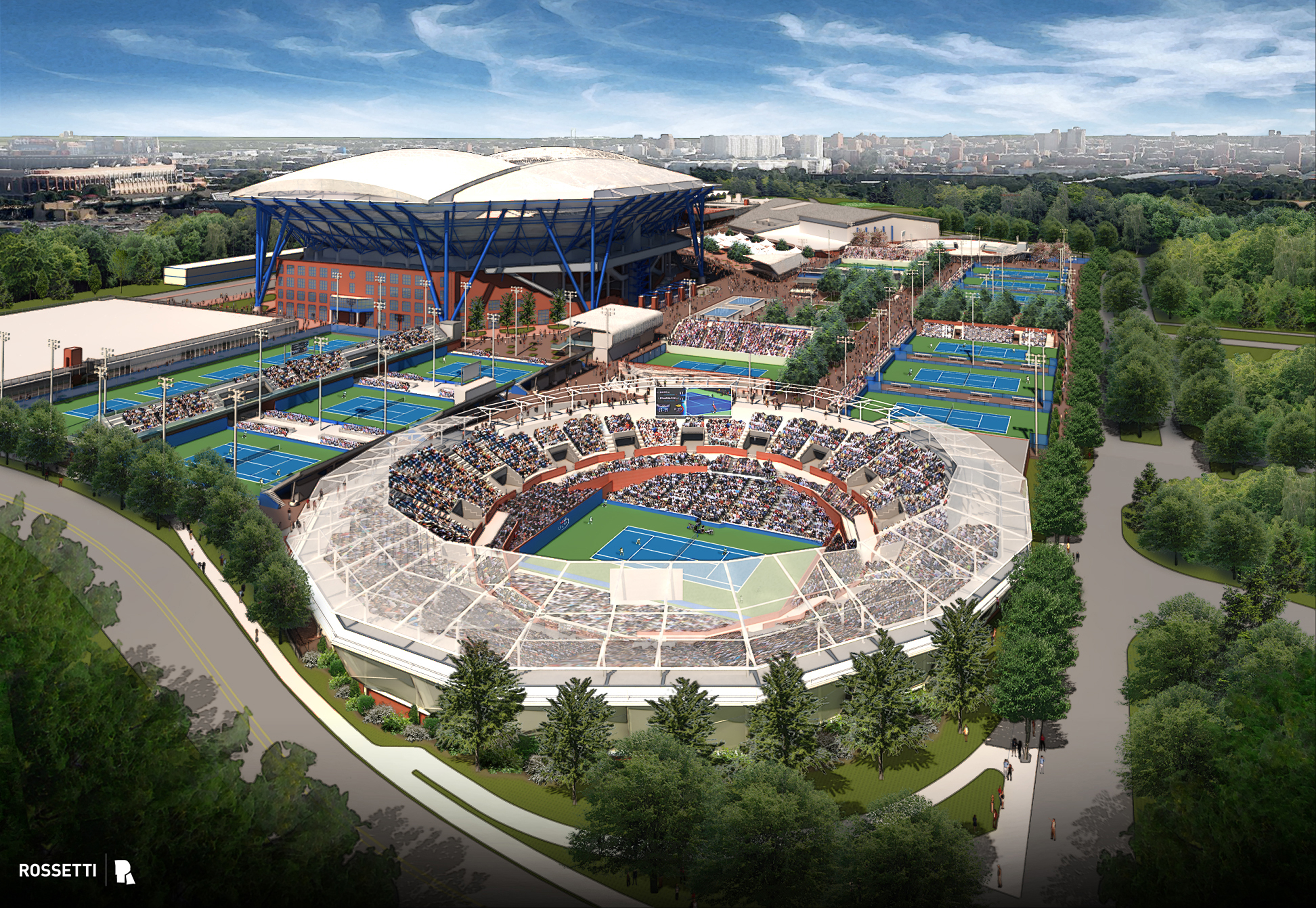 Usta Announces Historical Transformation Of The Billie Jean King - Us-open-tennis-center-map