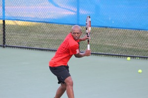 Punch Maleka will also be competing in the men's singles draw at the US Open National Playoffs.